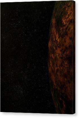 Rugged World Canvas Print
