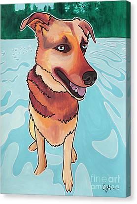Rukia The Shepherd Dog Canvas Print