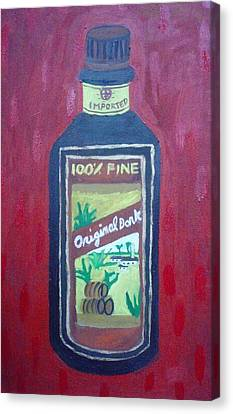 Rum Canvas Print by Patrice Tullai
