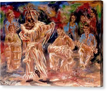 Rumba Abakua Canvas Print by Samuel Lind