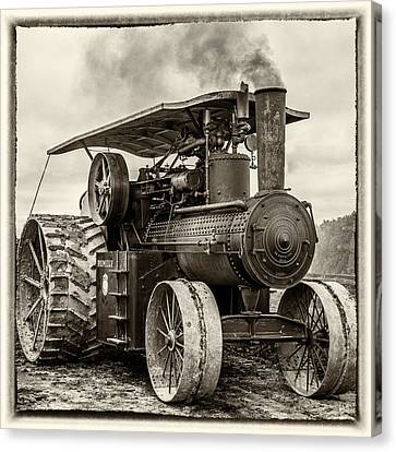Rumley In Bw Canvas Print
