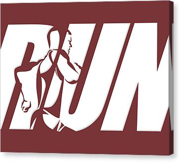 Run 3 Canvas Print by Joe Hamilton