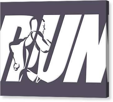 Run 4 Canvas Print by Joe Hamilton
