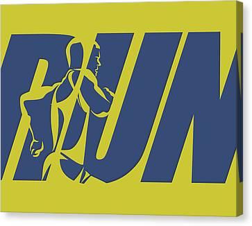 Run 5 Canvas Print by Joe Hamilton