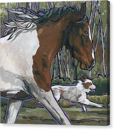 Canvas Print - Run by Nadi Spencer