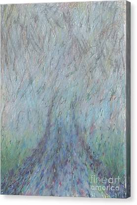 Running Into Fog Canvas Print by Andy  Mercer