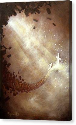 Running To Freedom Canvas Print by Ulysses Albert III
