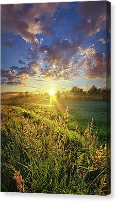 Running To Stand Still Canvas Print by Phil Koch