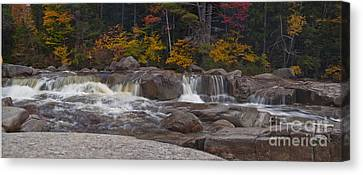 Canvas Print featuring the photograph Running Water by David Bishop