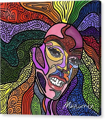 Rupaul A Drag Canvas Print