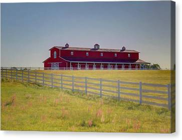 Canvas Print featuring the photograph Rural Alabama by Donna Kennedy