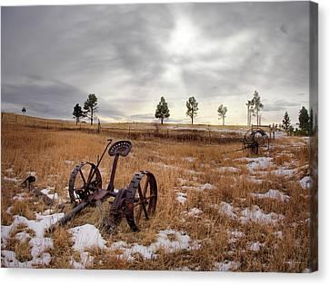 Distinctive Canvas Print - Rural And Ranch by Leland D Howard