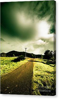 Rural Australia Lane Landscape Canvas Print by Jorgo Photography - Wall Art Gallery