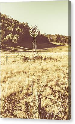 Rural Farm Ranch Canvas Print by Jorgo Photography - Wall Art Gallery
