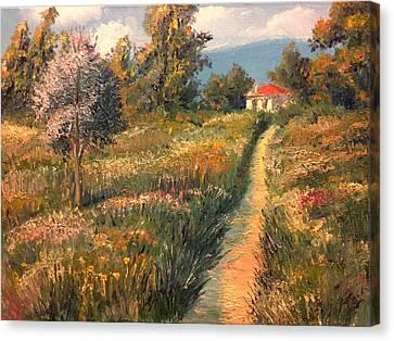 Rural Idyll Canvas Print