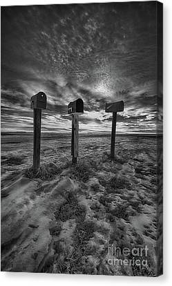 Mailboxes Canvas Print - Rural Mail by Ian McGregor