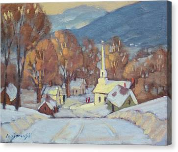 Rural New England Canvas Print by Len Stomski