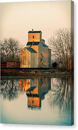 Rural Reflections Canvas Print by Todd Klassy