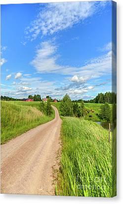 Rural Scenery Canvas Print by Veikko Suikkanen