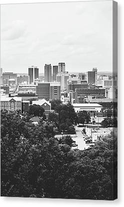 Canvas Print featuring the photograph Rural Scenes In The Magic City by Shelby Young