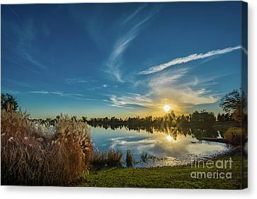 Waterclouds Canvas Print - Rural Sunset by Ron Miles Jr