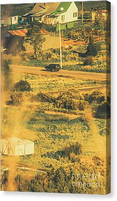 Rural Tasmania Landscape At Summer Canvas Print by Jorgo Photography - Wall Art Gallery