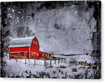 Counry Canvas Print - Rural Textures by Evelina Kremsdorf