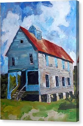 Rural Tn Church Series No 18 Canvas Print
