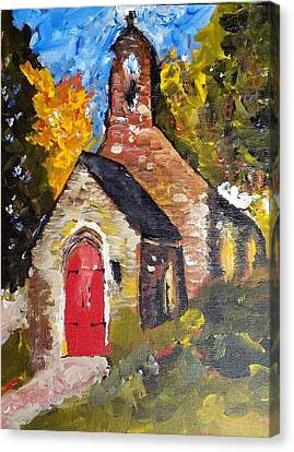 Rural Tn Church Series No 24 Canvas Print