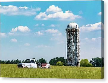 Junk Canvas Print - Rural by Tom Mc Nemar