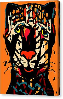 House Pet Canvas Print - Rusco by Natalie Holland