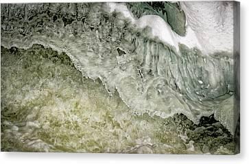 Rushing Water Canvas Print