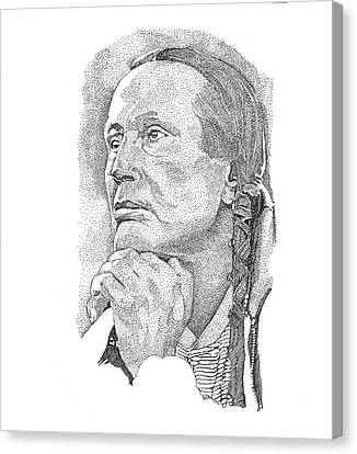 Russell Means Canvas Print
