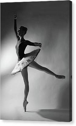 Russian Ballet Canvas Print by Darya Komarova