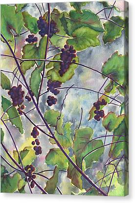 Russian Grapes Canvas Print