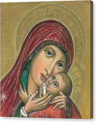 Russian Icon  Canvas Print by Linda Nielsen