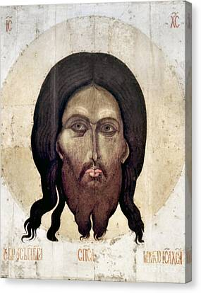 Russian Icon: The Savior Canvas Print by Granger