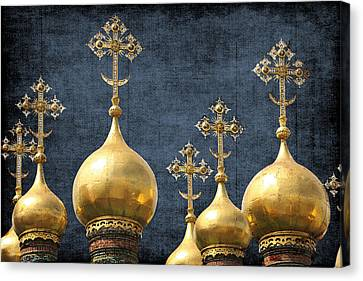 Russian Icons Canvas Print