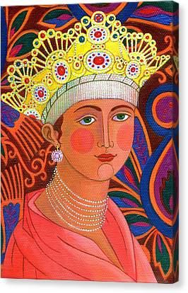 Russian Icon Canvas Print - Russian Princess by Jane Tattersfield