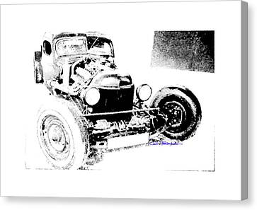 Russian Rat Rod Canvas Print by MOTORVATE STUDIO Colin Tresadern