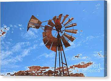 Rust Age Canvas Print