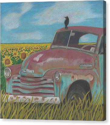 Rust And Gold Canvas Print by Arlene Crafton