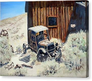 Rust In Peace Canvas Print by Dan Bozich