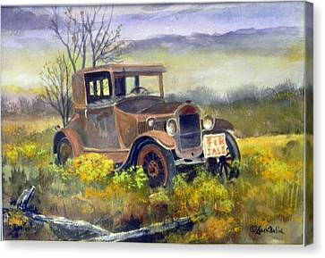 Rust In Peace  Sold Canvas Print