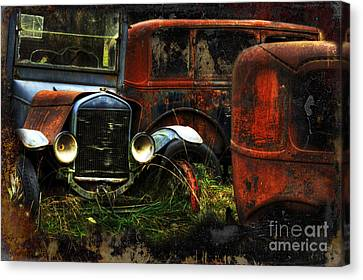 Rust Never Sleeps Canvas Print by Bob Christopher