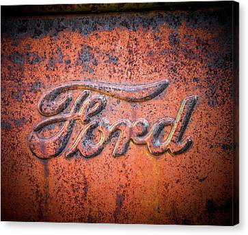 Rust Never Sleeps - Ford Canvas Print