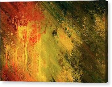Rust Of Life Abstract Wall Art Canvas Print