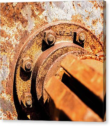 Canvas Print featuring the photograph Rust by Onyonet  Photo Studios
