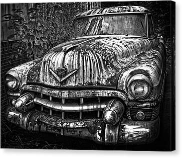 Rusted Chevy Canvas Print