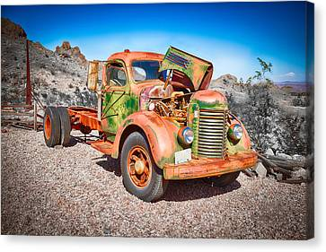 Rusted Classics - The International Canvas Print